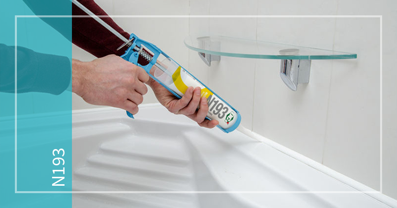 OCI Sealant N193 - Silicone Sealant for sealing adhesion to all metals (aluminum and steel), concrete, bricks, plasterboards and most painted or powder coated surfaces.