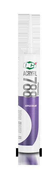 OCI Sealant Acryfil 788 - Acrylic Sealant untuk lem akrilik, lem kaca, sealant kaca, lem aquarium
