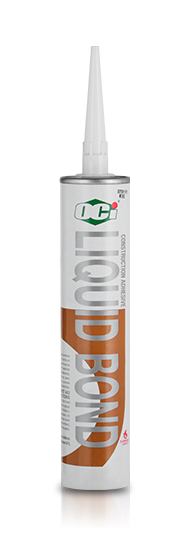 OCI Sealant Liquid Bond Synthetic - sealant for construction materials including wood, particleboard, masonry, aluminium, galvanised iron, steel, concrete, fibrious cement sheeting, wall, brick, concrete and floor panelling