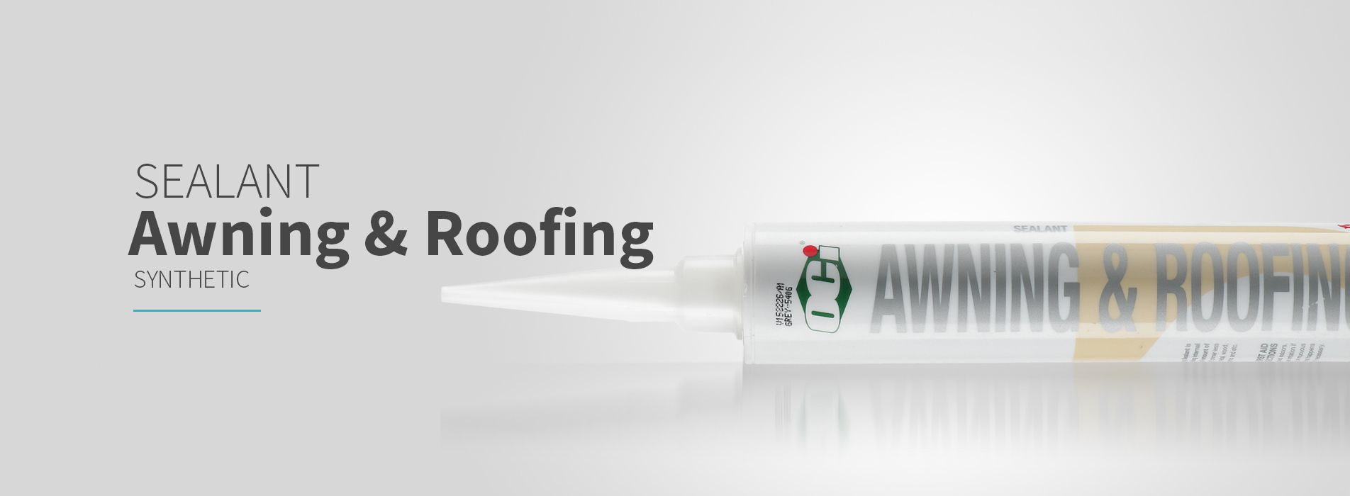 OCI Awning & Roofing Sealant for interior and exterior applications containers, roofs, external walling, window and door caulking