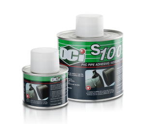OCI Adhesive S100 PVC Solvent Cement - sealant glue for pipe - lem kaleng