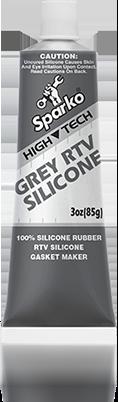OCI Sparko Grey RTV Silicone - Silicone Rubber, Gasket Maker