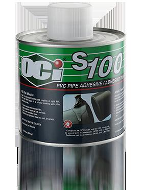 OCI Adhesive S100 PVC Solvent Cement - sealant glue for pvc pipe, lem pipa, s100 pvc glue, oci pvc glue