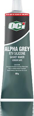 oci alpha grey rtv silicone sealant sensor safe