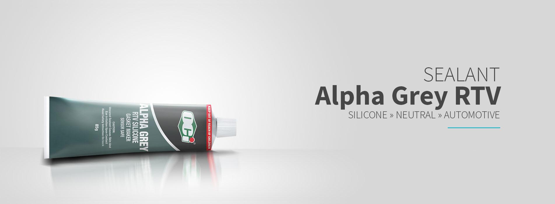 oci alpha grey lem rtv silicone sealant