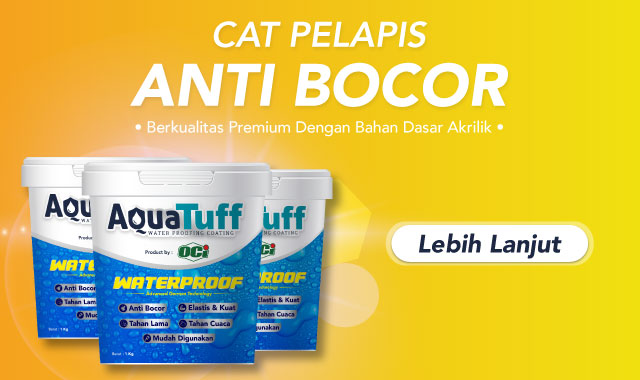 aquatuff cat pelapis anti bocor waterproofing