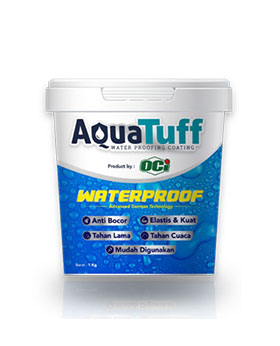 AquaTuff cat waterproof anti bocor