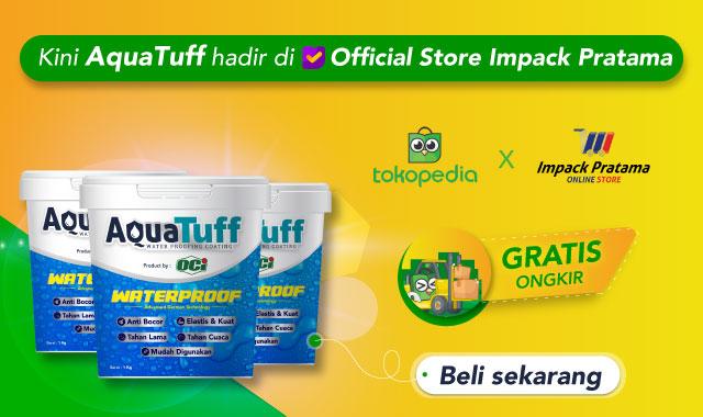 aquatuff cat waterproof pelapis anti bocor dapat dibeli online tokopedia