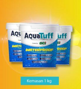 aquatuff harga cat waterproof kemasan 1 kg