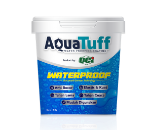 cat anti bocor aquatuff pelapis waterproofing