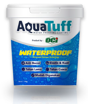 cat tembok waterproof anti bocor terbaik aquatuff