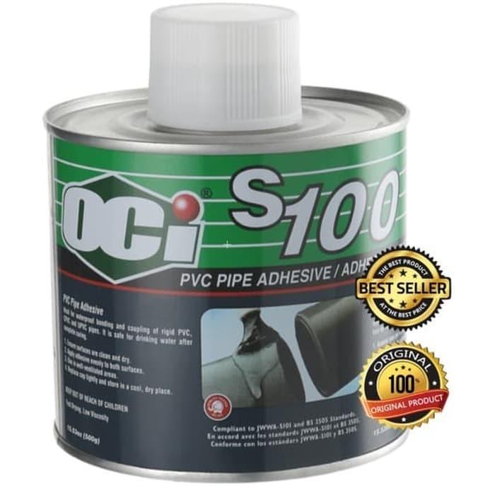 lem pipa pvc oci s100 pvc solvent cement