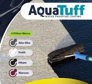 pilihan warna cat waterproof aquatuff pelapis ani bocor